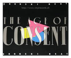 Cover of Bronski Beat's 'Age of Consent' album