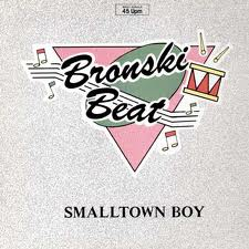 Record cover for Bronski Beat's 'Smalltown boy'