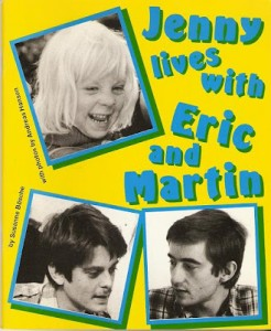 Cover of book 'Jenny lives with Eric and Martin'
