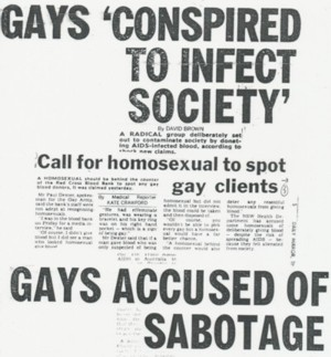 Aids conspiracy and gays