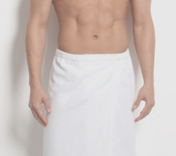 Man in towel