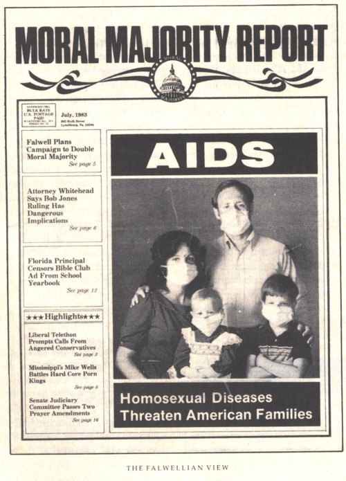 Moral Majority Report: AIDS: Homosexual Diseases Threaten American Families