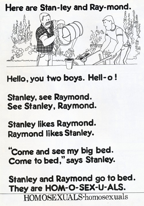Raymond and Stanley illustration by David Shenton