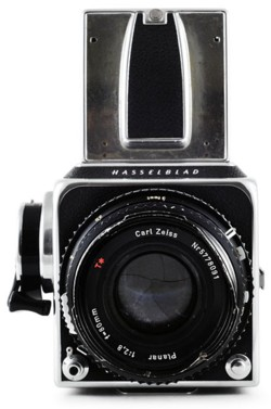 Hasselblad camera as used by Robert Mapplethorpe
